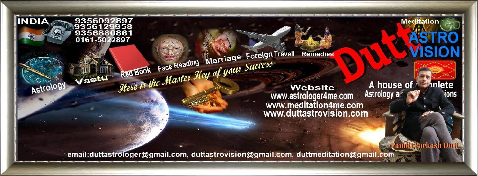 Astrologer Parkash Dutt our services